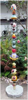 ceramic garden totem keramik stele