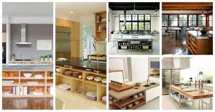 Kitchen Island Open Shelves Fascinating Open Shelving Kitchen Islands That Will Make Your