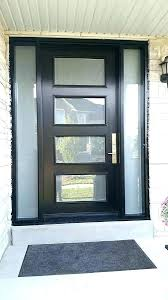 front doors with glass side panels modern exterior doors with sidelights brilliant front custom contemporary