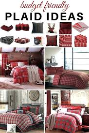 plaid duvet covers king wrm nd plaid flannel duvet cover king