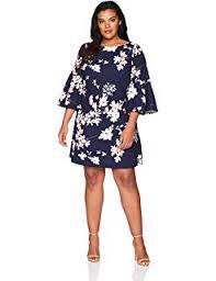 Eliza J Dress Size Chart Eliza J Womens Plus Size Stripe Shift Dress At Amazon