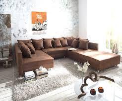 Wohnzimmer Couch Braune Couch Wohnzimmer