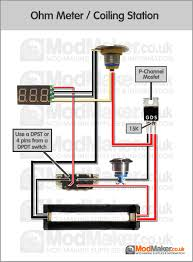 ohm meter coiling station wiring diagram Diy Wiring Diagram Multiple Light Wiring Diagram