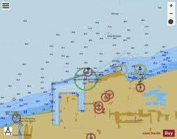 International Nautical Charts Burns International Hbr Indiana Marine Chart