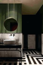 office bathroom decor. Office Bathroom Design Ideas Moody With Monochrome Floor Restroom Decor N