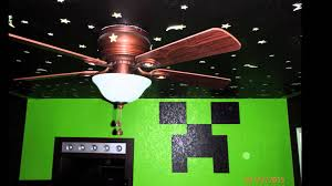 Minecraft Bedroom In Real Life Minecraft Room Diy Youtube