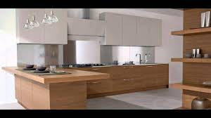 Light Wood Kitchen Cabinets Modern Modern Kitchen Cabinet Light Wood Youtube