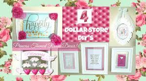 Princess Bedroom Decor 4 Girly Princess Room Decor Ideas Dollar Store Diys Youtube