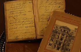 writing book wood journal art text handwriting calligraphy old books antique books family birth record