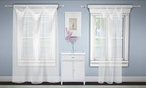 green100 build a curtain set sheer curtains 4 diffe
