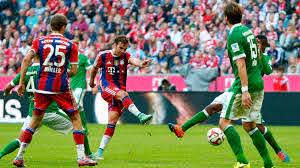 Бавария» разгромила «Вердер», «Байер» упустил победу над «Штутгартом»