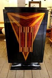 Englischer Vintage Art Deco Barschrank