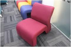 office settee. Single Seater Office Settee