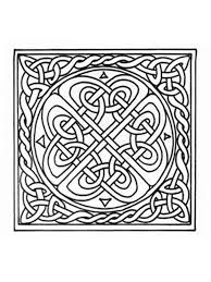 Small Picture Celtic Knot coloring pages for adults Free Printable Celtic Knot