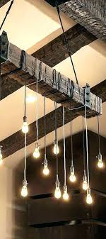 wood beam light rustic beam lighting wood beam light rustic lighting chandelier decor rustic beam reclaimed