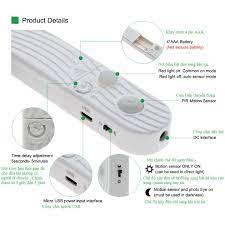 Đèn Led dây cảm ứng tự động sáng khi có người di chuyển ,tiện lợi dễ dàng  lắp đặt ở nhiều vị trí trong nhà. - Đèn trang trí