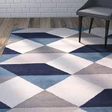 blue geometric area rug love the gray blue geometric area rug at great deals on all blue geometric area rug