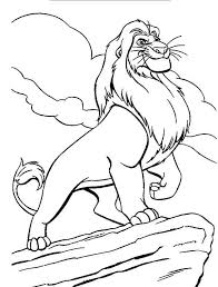 Small Picture Lion King Mufasa Coloring Pages Coloring Coloring Pages