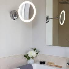 bathroom makeup lighting. astro mascali warm white led magnifying mirror light lighting direct bathroom makeup a