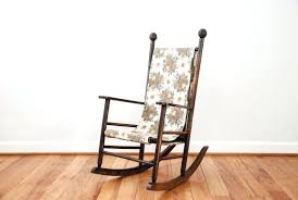 antique chair wooden childs vintage rocking vintage wooden chair
