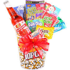 jelly belly night gift basket