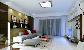 Living Room:Minimalist Living Room Apartment With TV Decorating Idea TV  Wall Decoration In Living