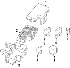 Genuine ford maxi fuse for dg9z14526ua