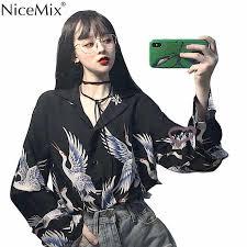 <b>NiceMix</b> Summer <b>2019</b> Japanese <b>Style</b> Harajuku Kimono Women ...