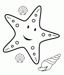 Small Picture Printable 36 Starfish Coloring Pages 8723 Starfish Smail Star