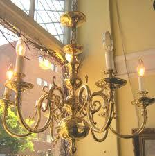 solid brass 6 light williamsburg chandelier