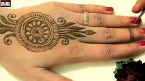 Simple Round Mehndi Design Cute Easy Unique Circular Mehndi Designs Simple Mehendi Design For Beginners Mehndiartistica