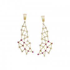 jaime moreno unique pieces of art in fine jewelry constellation earrings p19 b