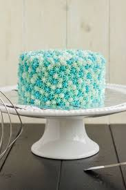 Easy Star Tip Cake Decorating Idea Ocean Theme Cake Frosting