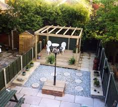 Small Picture Garden Landscaping Project in Stockport Garden Patio Decking