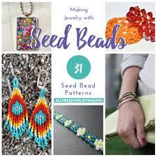 Seed Bead Patterns Mesmerizing Making Jewelry With Seed Beads 48 Seed Bead Patterns