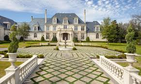 incredible 32 million french inspired estate in dallas tx with its own water park