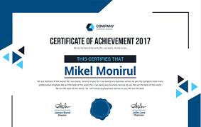 Corporate Certificate Template 50 Multipurpose Certificate Templates And Award Designs For