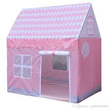 children beach tent girl lovely pink play game house ocean ball tent princess castle indoor outdoor toys tent d171 tents for children toys tent kids tents