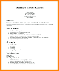 Resume Cv Meaning Adorable Bartender Resume Template Cv Meaning Puntogovco