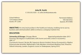 Resume Sample Simple Resume Objectives For Any Job Mgorka Com What