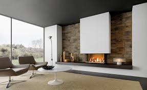 contemporary fireplace. Contemporary Fireplace Surround / Marble Earthenware F
