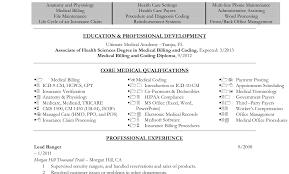 Medical Billing Objective For Resume Literarywondrous Medical Billing Resume Samples Objective Clerk 19