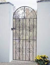 stira scroll tall bow garden gate 762