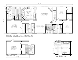 image of ranch style house plans with open floor plan