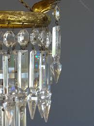 1930s small albert drop chandelier antique chandeliers