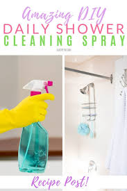 how to make diy daily shower spray