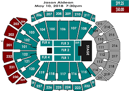 Luke Combs Seating Chart Jason Aldean Sprint Center