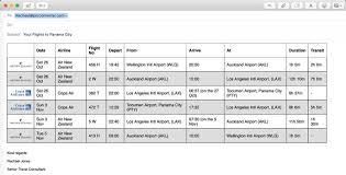 Easy Pnr Converter Decoder Flight Itinerary Converter For
