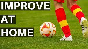 individual soccer drills at home week 1