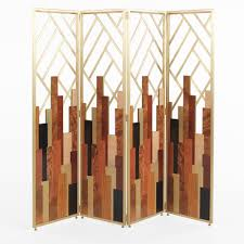 art deco inspired furniture. Designer Art Deco Inspired Brass Dressing Screen Furniture
